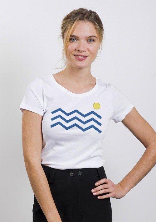 Vagues citrons - T-shirt Femme