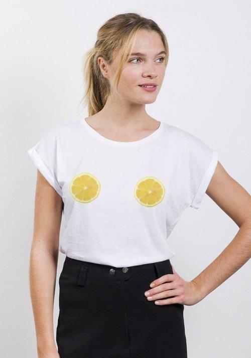 Citrons - T-shirt Femme