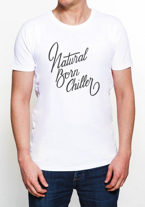 Natural Born Chiller T-shirt Homme Col Rond