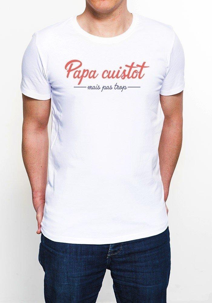 Papa Cuistot T-shirt Homme