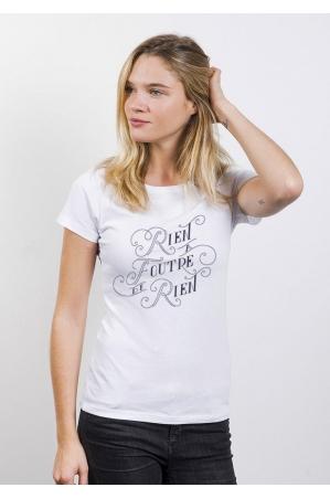 Rien à foutre de rien T-shirt Femme Col Rond