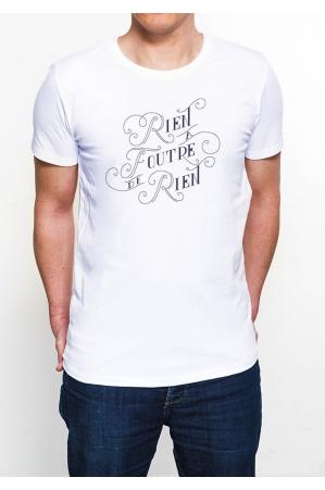 Rien à  foutre de rien T-shirt Homme Col Rond
