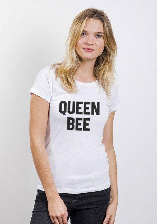 Queen Bee T-shirt Femme Col Rond