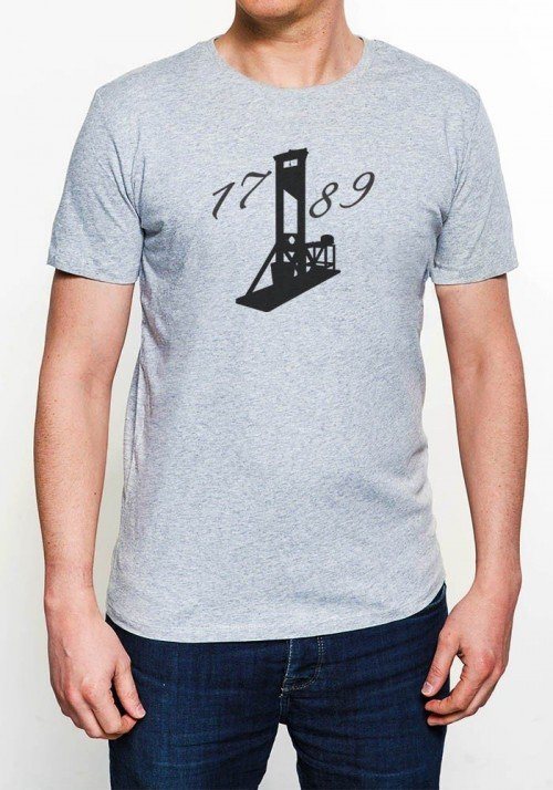 1789 T-shirt Homme Col Rond