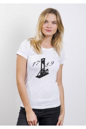 1789 T-shirt Femme Manches Retroussées