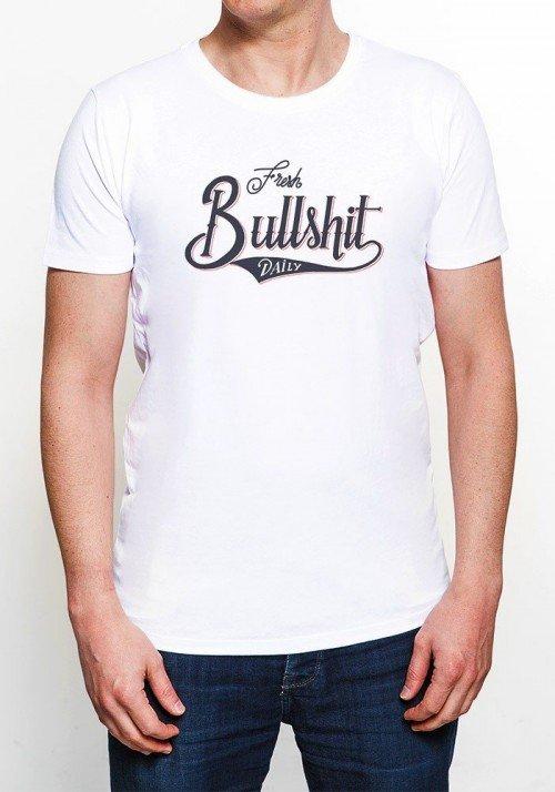 Fresh Bullshit T-shirt Homme Col Rond