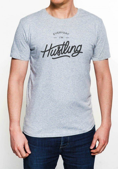 Everyday i'm hustling T-shirt Homme