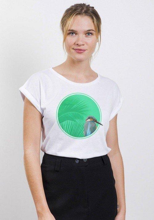 Colibri  T-shirt Femme Manches Retroussées