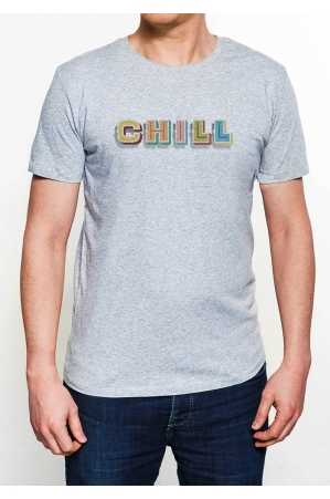 Chill T-shirt Homme Col Rond