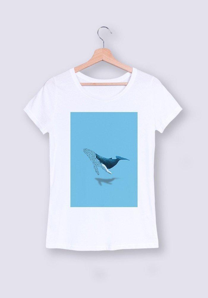 Tshirts Femme CR Baleine ManiOne