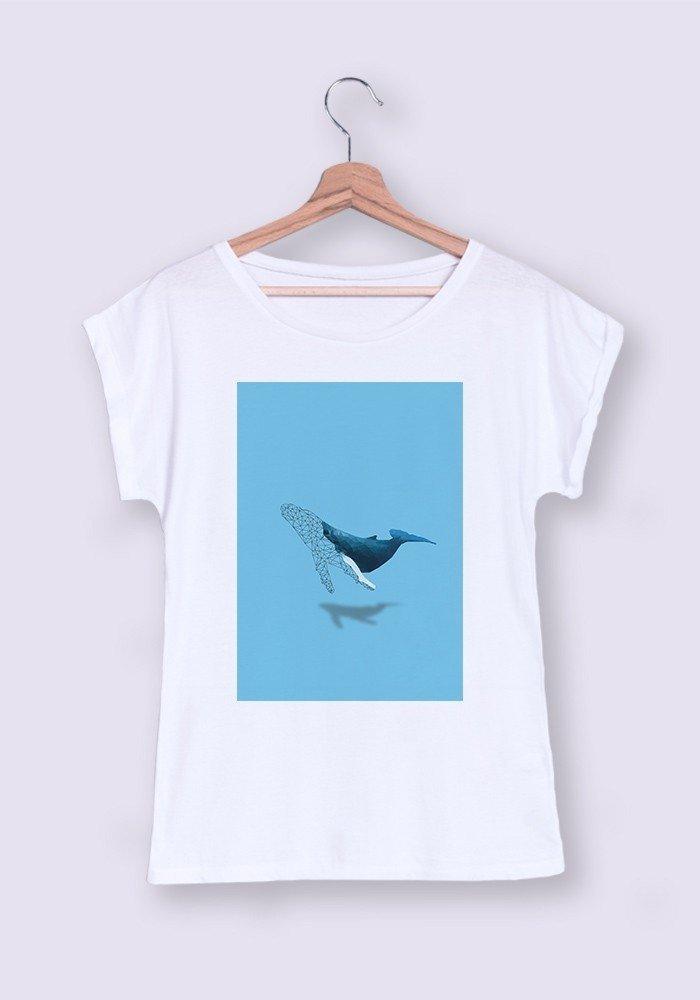 Tshirts Femme MR Baleine ManiOne