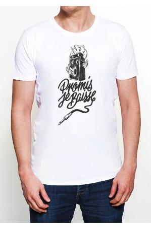 Promis je baisse T-shirt Homme Col Rond