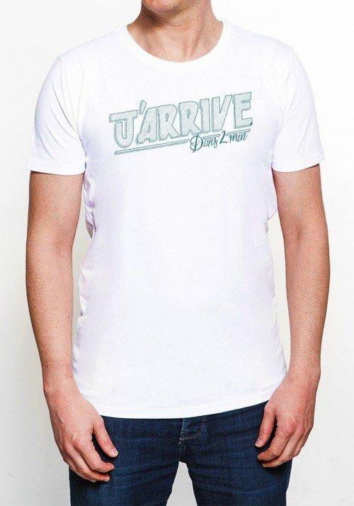 Promis J'arrive T-shirt Homme Col Rond