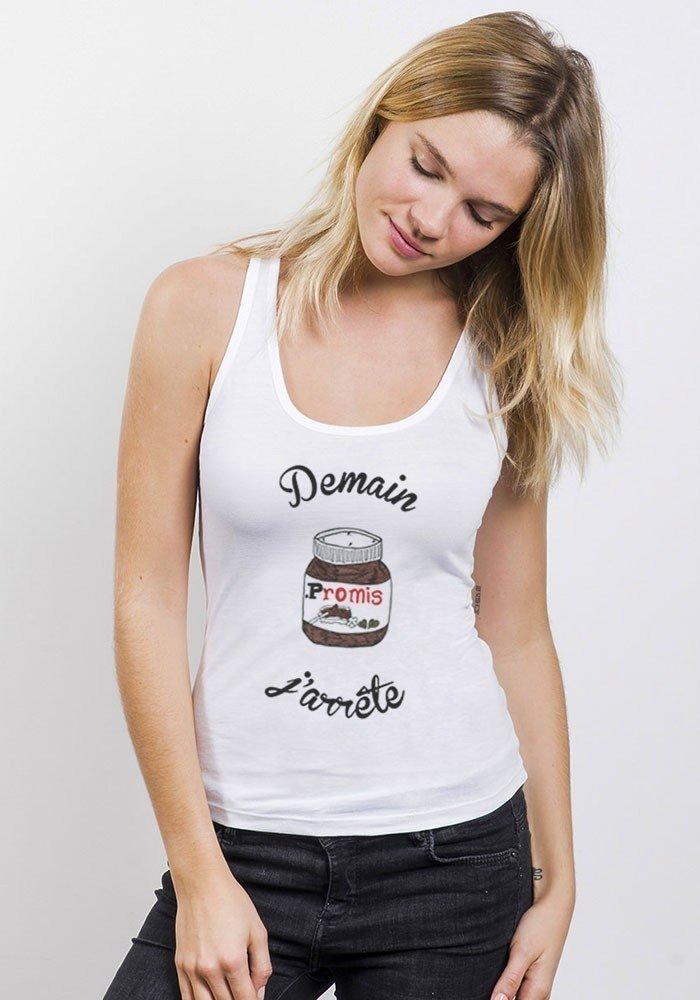 Nutella Débardeur Femme