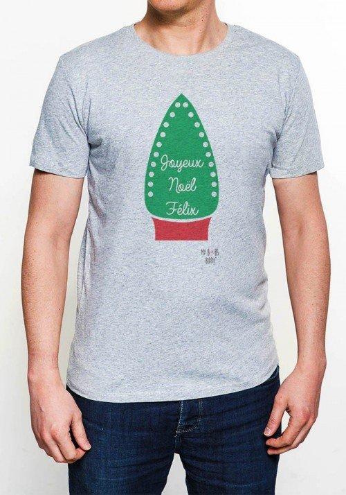 Joyeux Noël Felix T-shirt Homme Col Rond