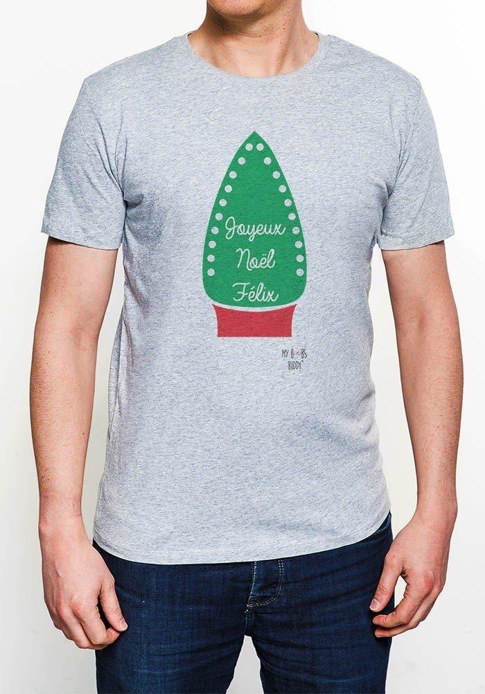Tshirts Homme Joyeux Noel Felix