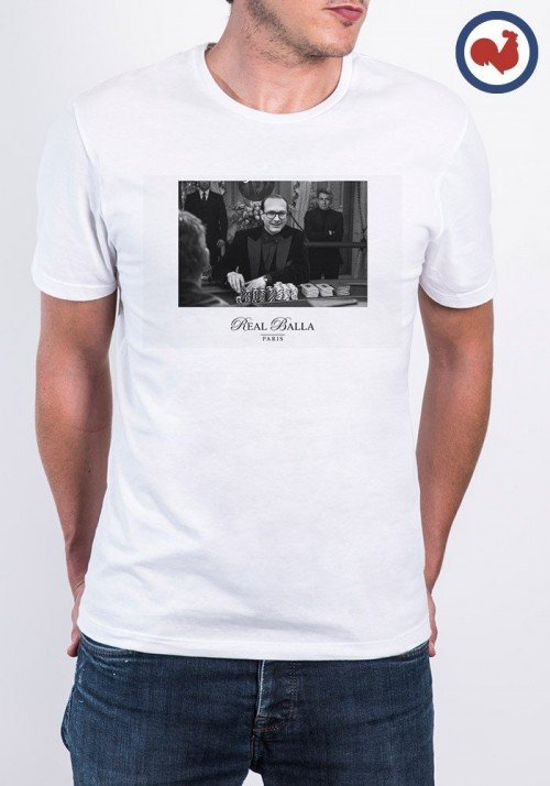Chirac casino T-shirt Made in France
