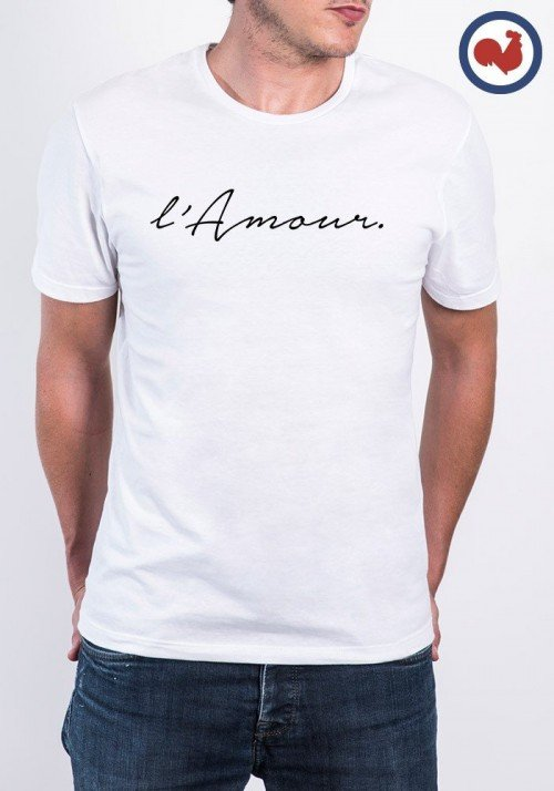 L'Amour T-shirt Made in France