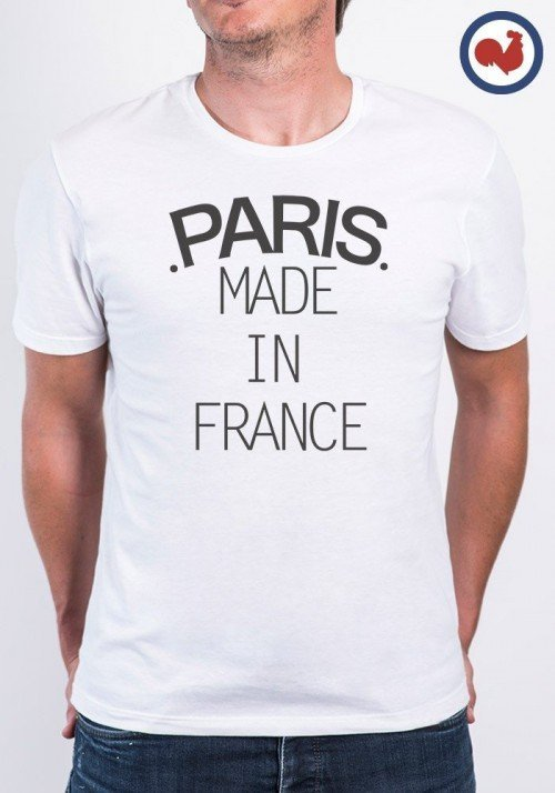 Paris Made in France T-shirt Made in France