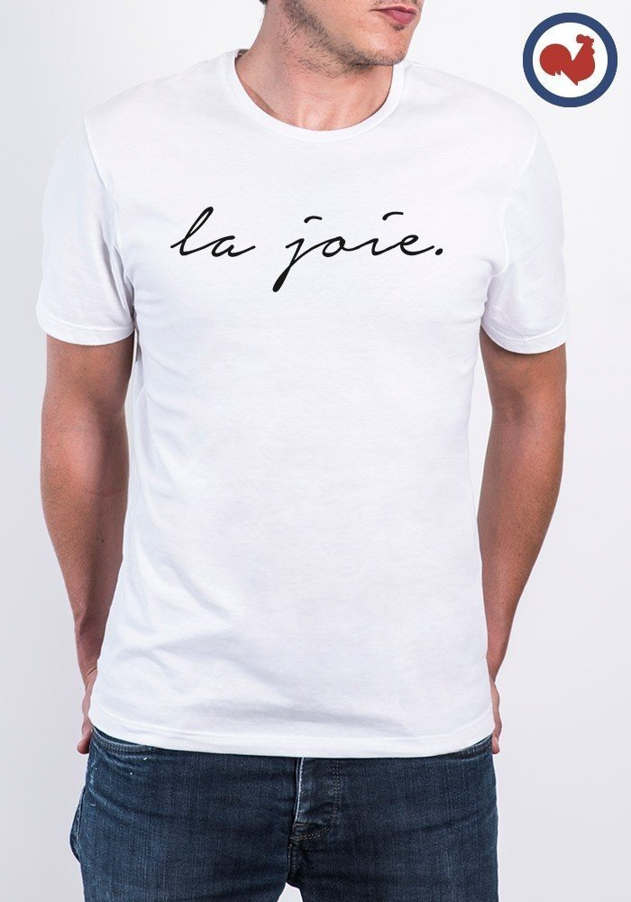 La joie T-shirt Made in France