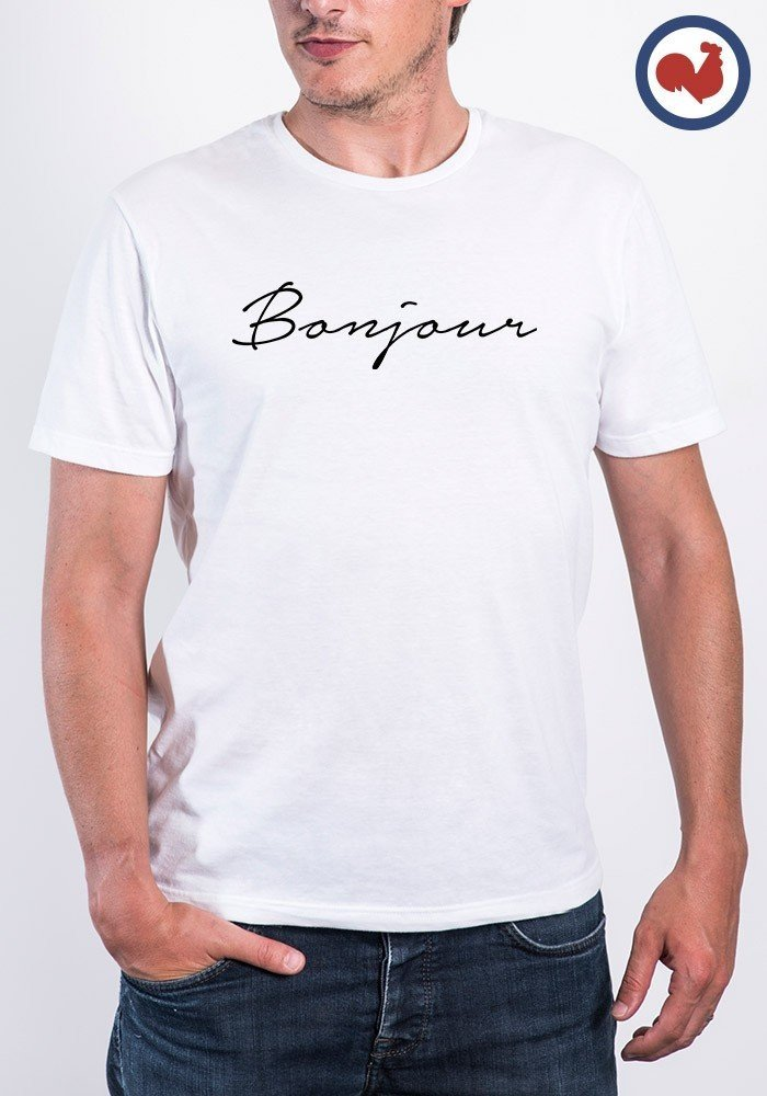Bonjour T-shirt Made in France
