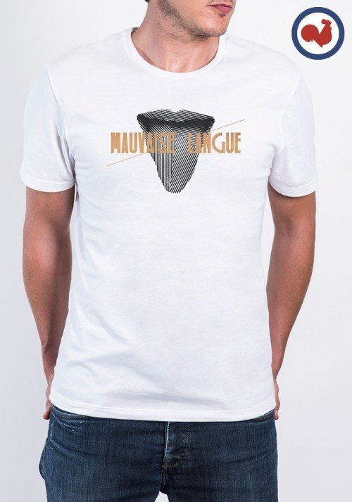 Tshirt made in france Mauvaise Langue Manione