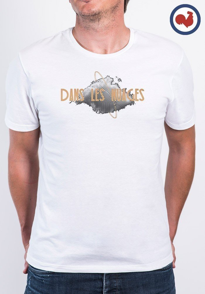 Tshirt made in france Dans les nuages Manione