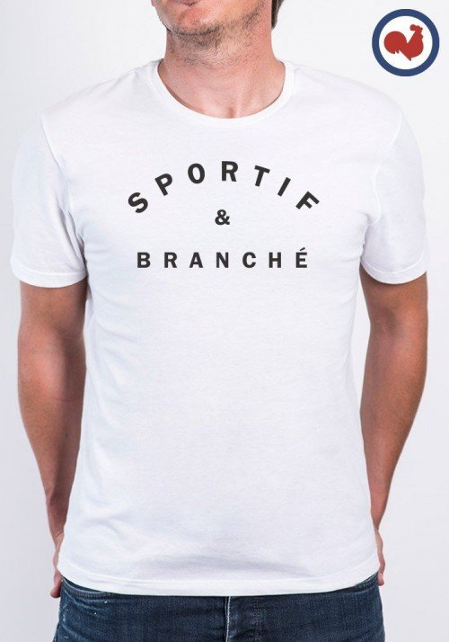 Sportif et Branché T-shirt Made in France