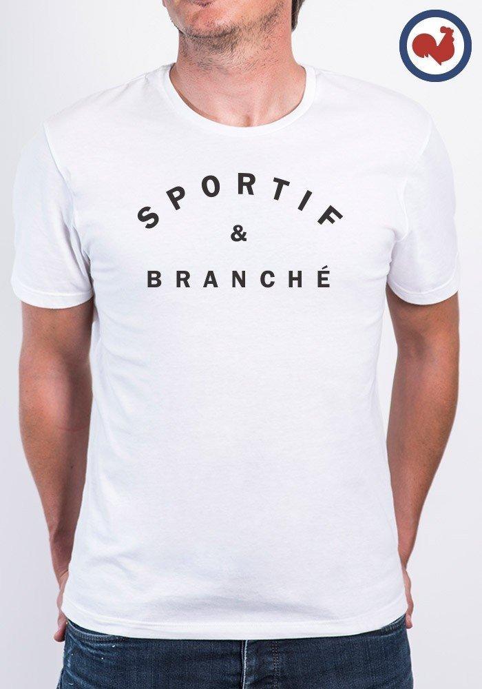 Tshirt homme made in france sportif et branch joks - Bon de reduction trend corner ...