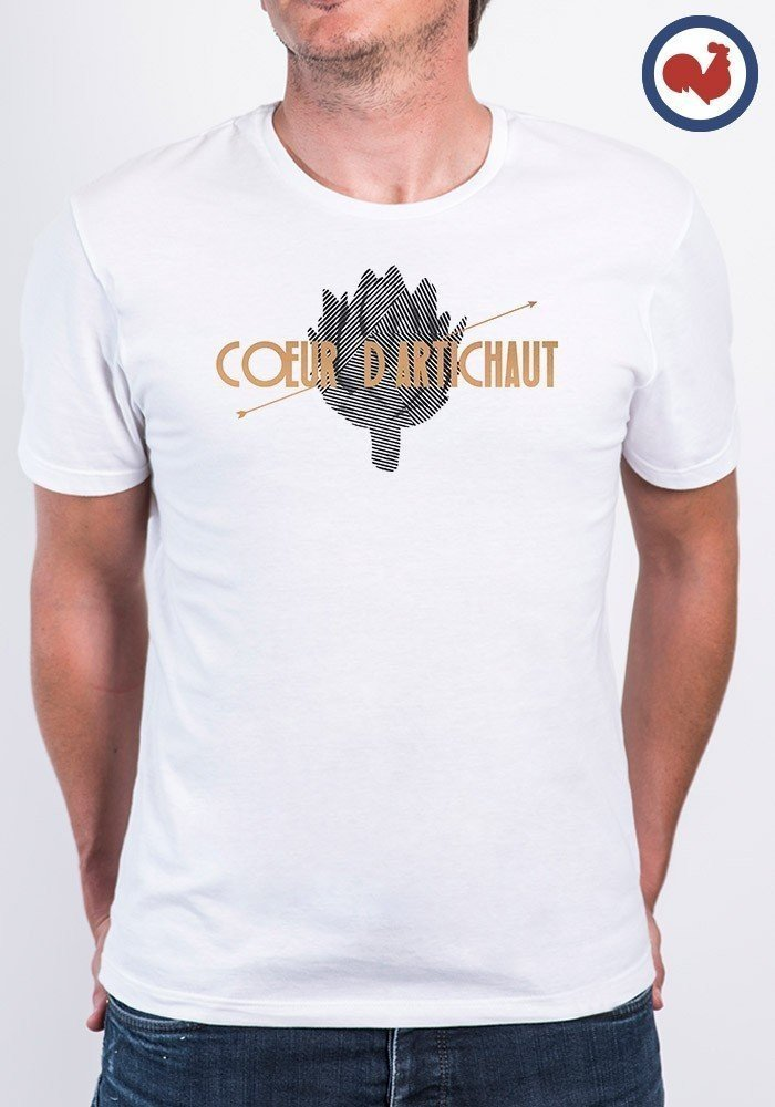 Tshirt made in france Coeur D'artichaut Manione