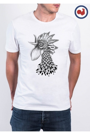 Wake Up T-shirt Made in France