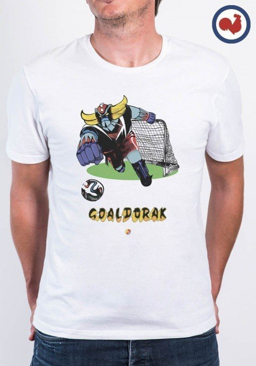 Goaldorak - Tshirt Made In France