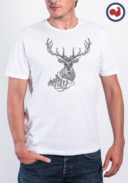 Oh My Deer T-shirt Made in France