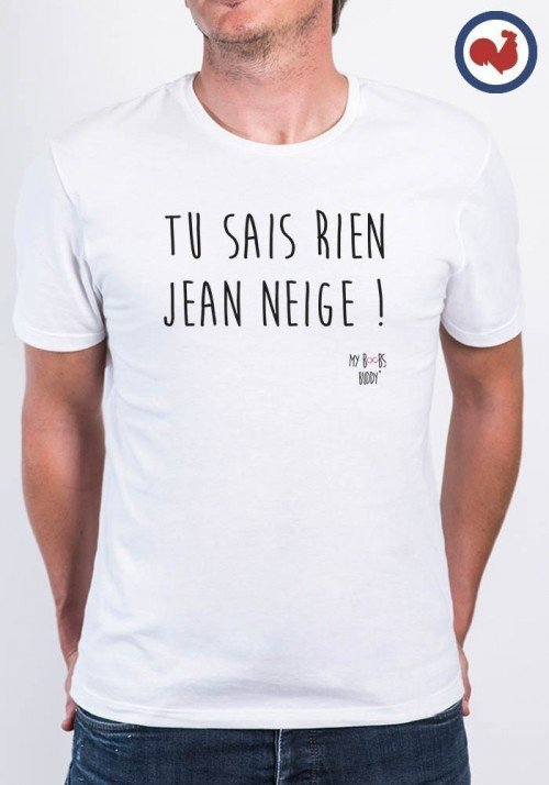 Jean Neige T-shirt Made in France