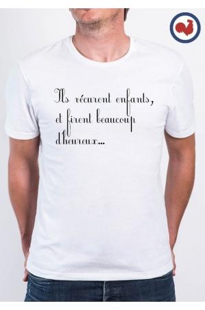 Ils vécurent enfants T-shirt Made in France