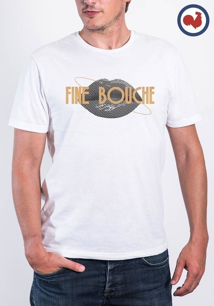 Tshirt made in france Fine Bouche Manione