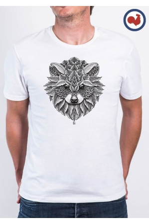 Racoon T-shirt Made in France