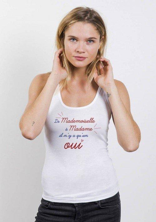 De mademoiselle à madame - Débardeur Femme