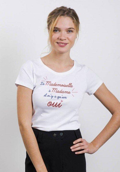 De mademoiselle à madame - T-shirt Femme