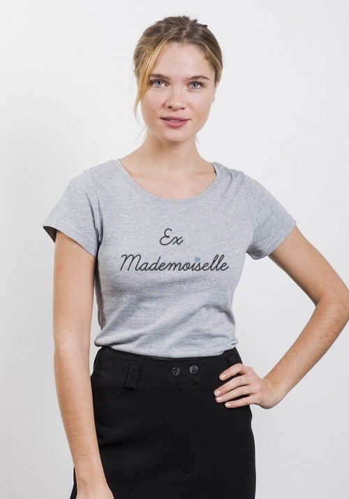 Ex Mademoiselle T-shirt Femme - Oh Oui