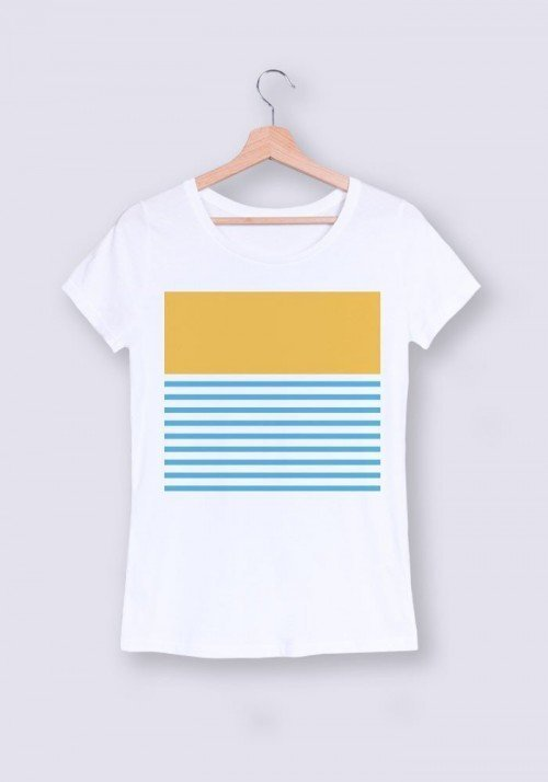 Coucher de soleil - T-shirt Femme