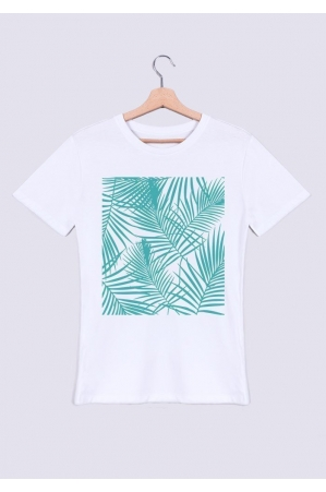 Palmier Turquoise - T-shirt Homme