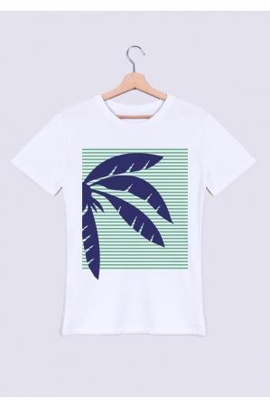 Palmier bleu - T-shirt Homme