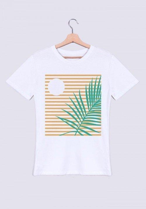 Palmier crépuscule - T-shirt Homme