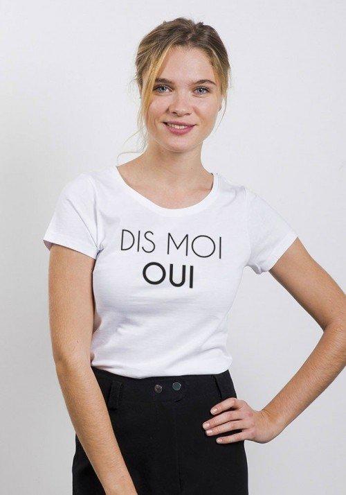 Dis moi oui T-shirt Femme - Oh Oui