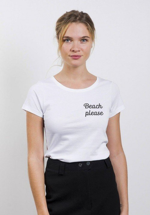 Beach please - T-shirt Femme