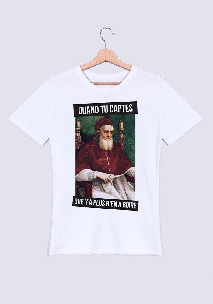 T'avais l'air plus chaude online - T-shirt Homme