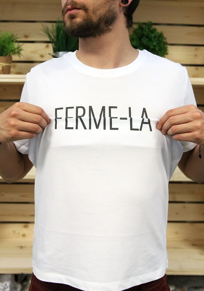 Ferme-la - Message codé - T-shirt Homme