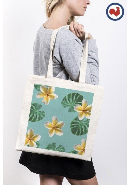Valse tropicale - ToteBag Made In France