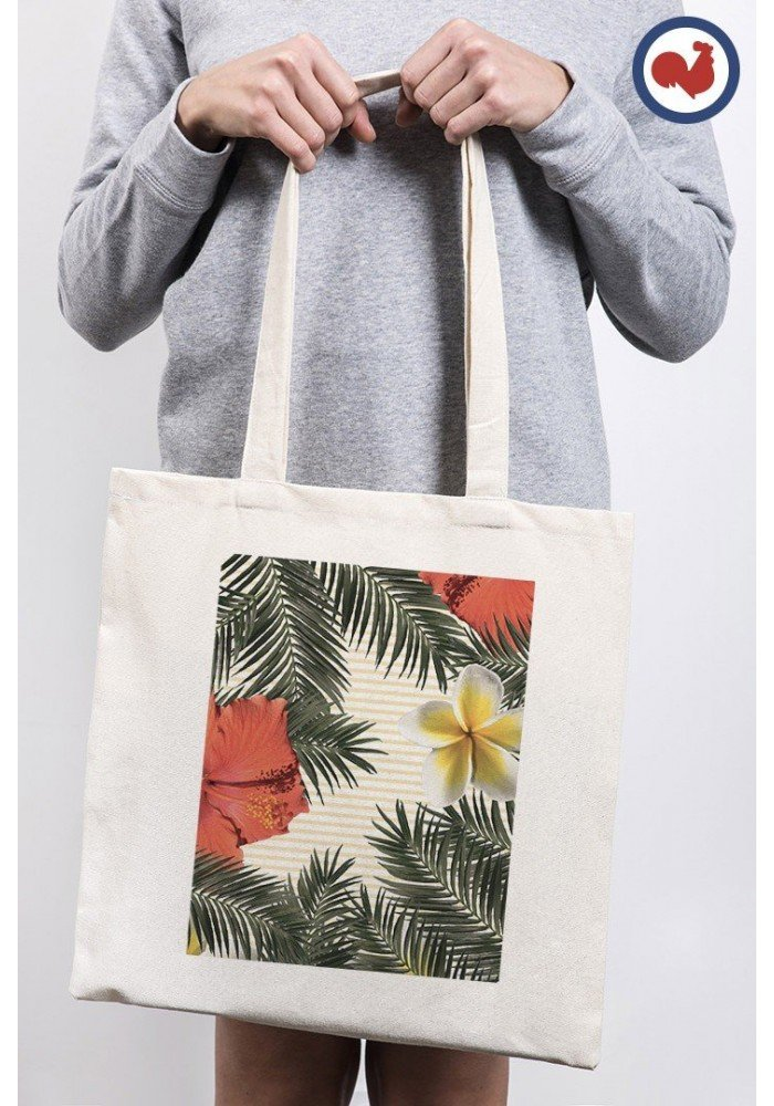 Crazy tropiques - ToteBag Made In France